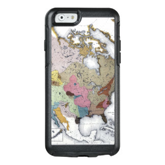 MAP: AMERICAN INDIANS 3 OtterBox iPhone 6/6S CASE