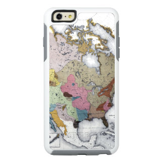 MAP: AMERICAN INDIANS 3 OtterBox iPhone 6/6S PLUS CASE