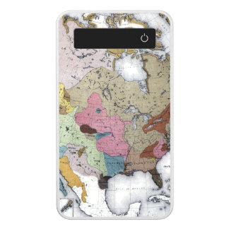 MAP: AMERICAN INDIANS 3 POWER BANK
