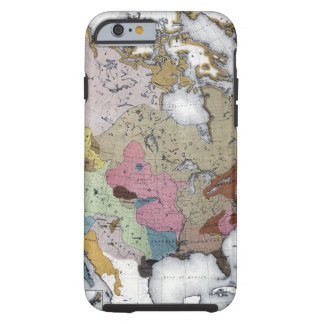MAP: AMERICAN INDIANS 3 TOUGH iPhone 6 CASE