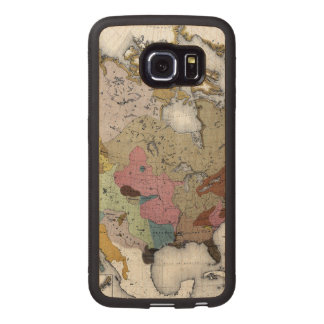 MAP: AMERICAN INDIANS 3 WOOD PHONE CASE