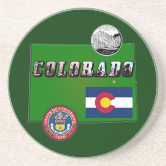 Map and Picture Text of Colorado Sandstone Coaster