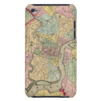 Map Around The City Of Philadelphia Barely There iPod Cover