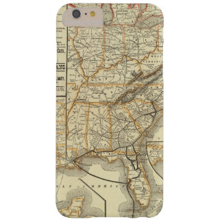 Map Atlantic Coast Line Barely There iPhone 6 Plus Case