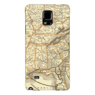 Map Atlantic Coast Line Galaxy Note 4 Case