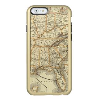 Map Atlantic Coast Line Incipio Feather® Shine iPhone 6 Case