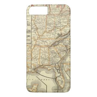 Map Atlantic Coast Line iPhone 7 Plus Case