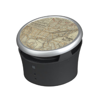 Map Atlantic Coast Line Speaker