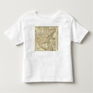 Map Atlantic Coast Line Tee Shirts
