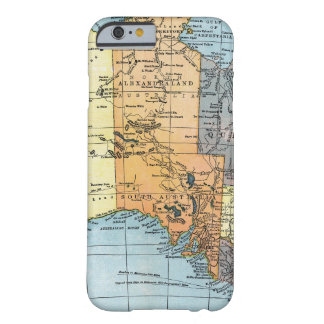 MAP: AUSTRALIA, c1890 Barely There iPhone 6 Case