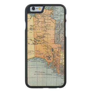 MAP: AUSTRALIA, c1890 Carved Maple iPhone 6 Slim Case