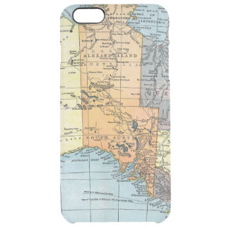 MAP: AUSTRALIA, c1890 Clear iPhone 6 Plus Case