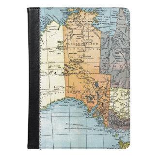 MAP: AUSTRALIA, c1890 iPad Air Case