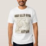 Map Boston and Maine Railroad T-shirt