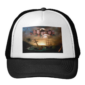 Map captain and five children of the American way Trucker Hat