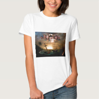 Map captain and five children of the American way T Shirt