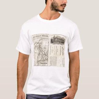 Map Central Vermont Railroad T-Shirt