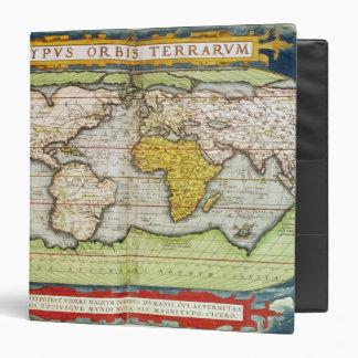Map charting Sir Francis Drake's Binder
