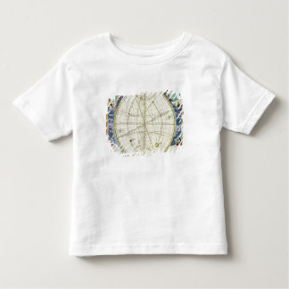 Map Charting the Movement of the Earth and Planets Toddler T-shirt