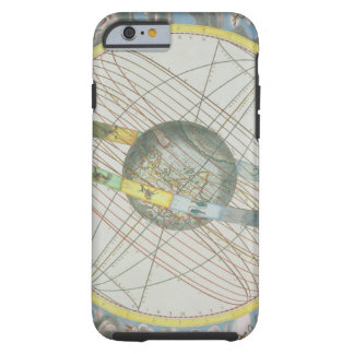 Map Charting the Orbit of the Moon around the Eart Tough iPhone 6 Case
