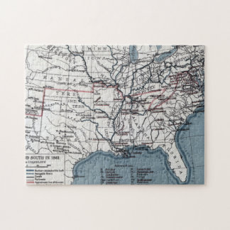 MAP: CIVIL WAR, 1861 JIGSAW PUZZLE