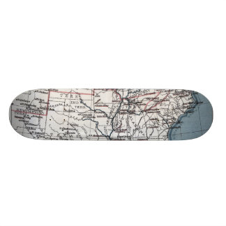 MAP: CIVIL WAR, 1861 SKATEBOARD