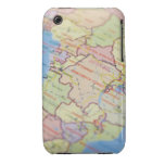 Map, close-up Case-Mate iPhone 3 cases