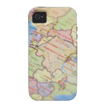 Map, close-up Case-Mate iPhone 4 case
