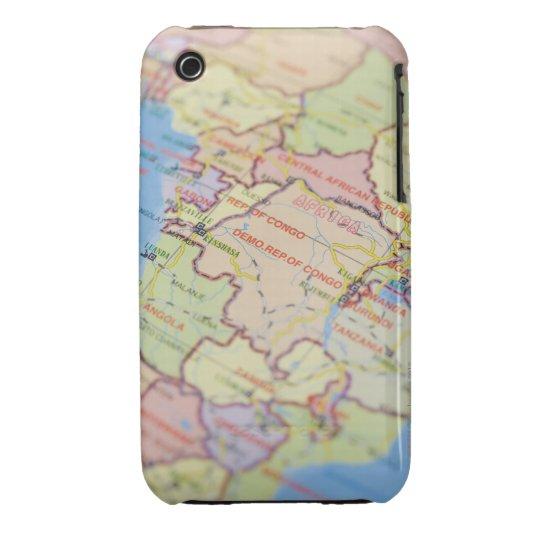 Map, close-up iPhone 3 Case-Mate case