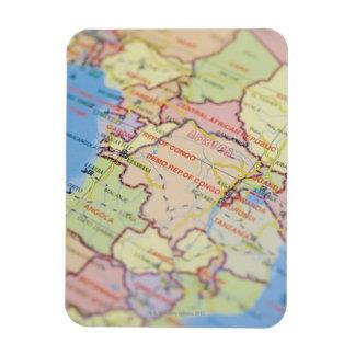 Map, close-up magnet