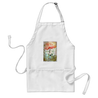 Map, Compass, Roses Adult Apron