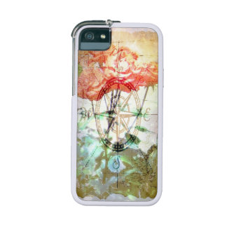 Map, Compass, Roses Case For iPhone 5