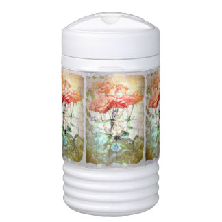 Map, Compass, Roses Igloo Beverage Cooler