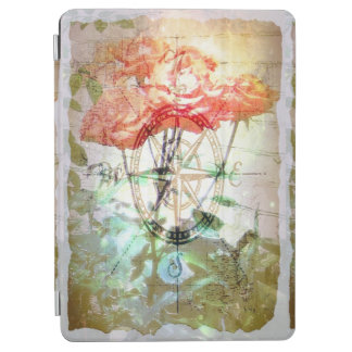 Map, Compass, Roses iPad Air Cover