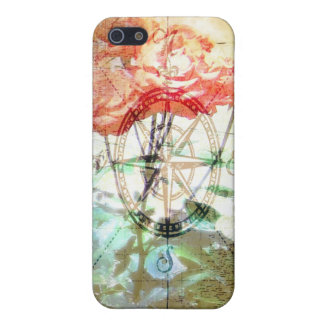 Map, Compass, Roses iPhone 5/5S Cover