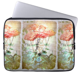 Map, Compass, Roses Laptop Sleeves