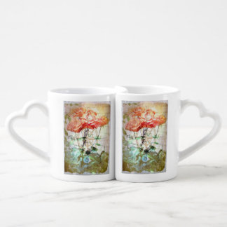 Map, Compass, Roses Lovers Mugs