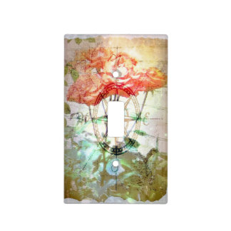 Map, Compass, Roses Switch Plate Cover