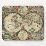 Map del mundo, 1689 de Gerard Van Schagen Alfombrilla De Raton