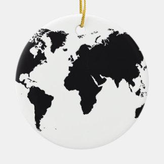 map design adornos de navidad