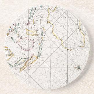 MAP: EAST INDIES, 1670 COASTER