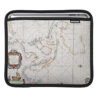 MAP: EAST INDIES, 1670 iPad SLEEVE