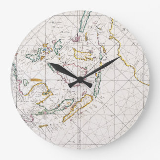 MAP: EAST INDIES, 1670 LARGE CLOCK