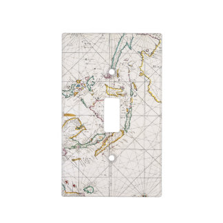MAP: EAST INDIES, 1670 LIGHT SWITCH COVER