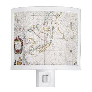 MAP: EAST INDIES, 1670 NIGHT LIGHT