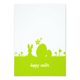 Map Easter Easter bunny Easter egg Card