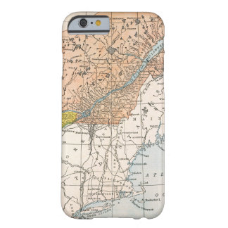 MAP: EASTERN CANADA BARELY THERE iPhone 6 CASE