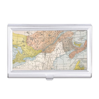 MAP: EASTERN CANADA BUSINESS CARD HOLDER