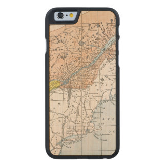 MAP: EASTERN CANADA CARVED MAPLE iPhone 6 CASE