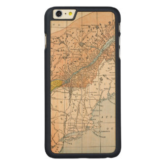 MAP: EASTERN CANADA CARVED MAPLE iPhone 6 PLUS SLIM CASE